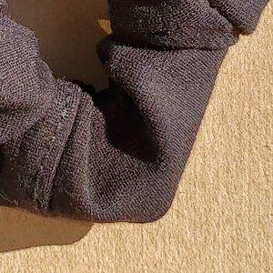 Handmade Scrunchie   Upcycled Black